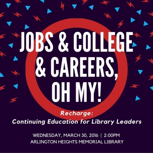 jobs and college and careers, oh my!
