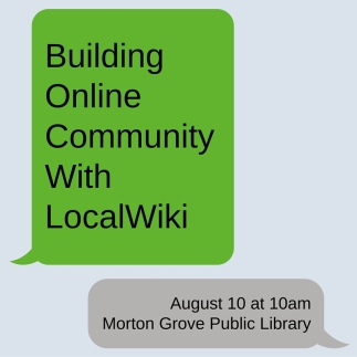 building online community with localwiki